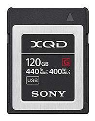 128GB XQD memory card-
