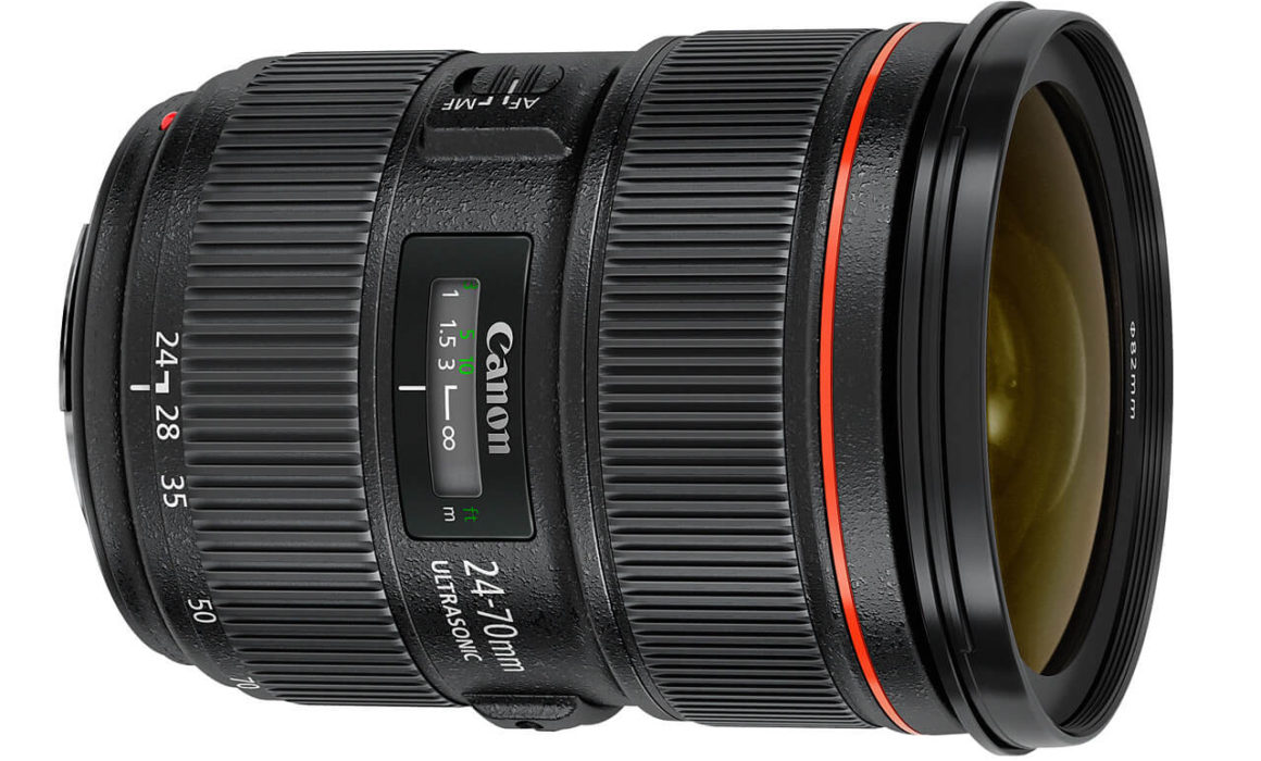 Canon EF 24-70mm lens