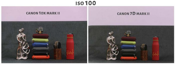 ISO 100 Canon 1DX Mark ii Vs Canon 7D Mark ii
