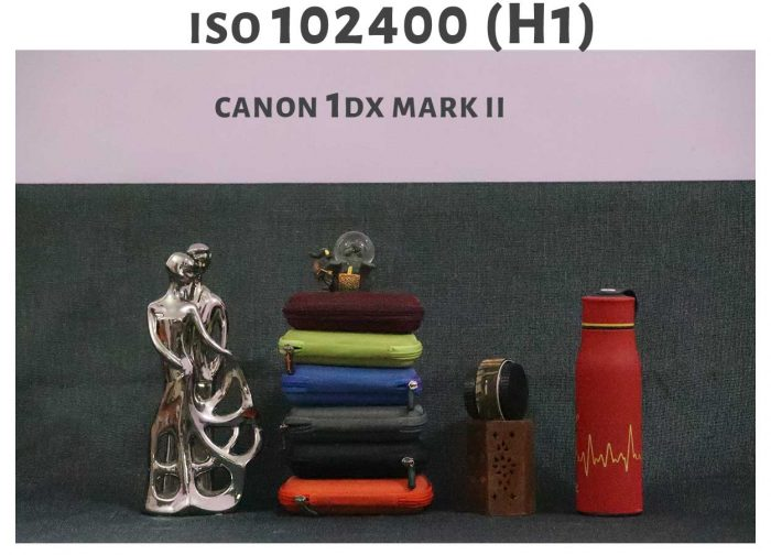 ISO 102400 Canon 1DX Mark ii