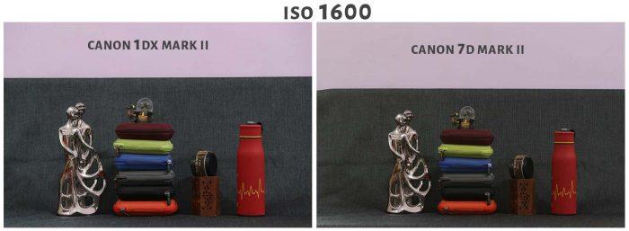 ISO 1600 Canon 1DX Mark ii Vs Canon 7D Mark ii