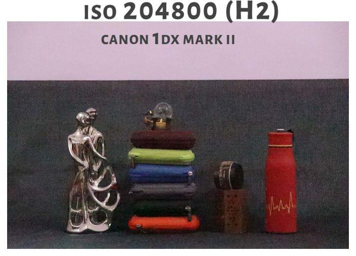 ISO 204800 Canon 1DX Mark ii