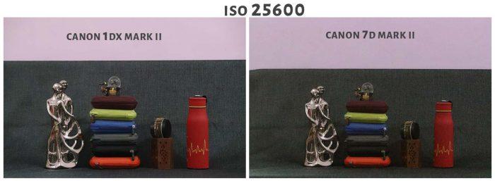 ISO 25600 Canon 1DX Mark ii Vs Canon 7D Mark ii