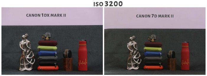 ISO 3200 Canon 1DX Mark ii Vs Canon 7D Mark ii