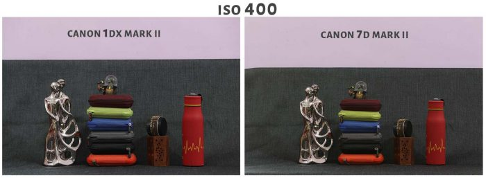 ISO 400 Canon 1DX Mark ii Vs Canon 7D Mark ii