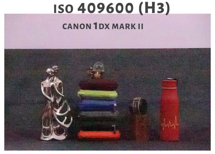 ISO 409600 Canon 1DX Mark ii