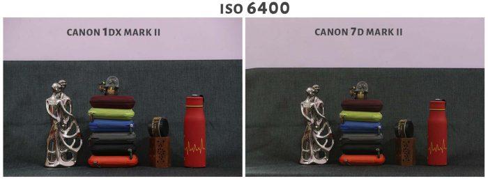ISO 6400 Canon 1DX Mark ii Vs Canon 7D Mark ii