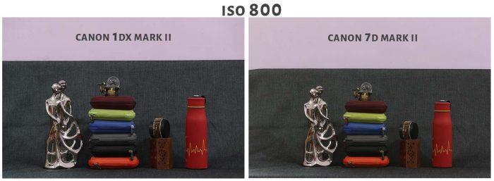 ISO 800 Canon 1DX Mark ii Vs Canon 7D Mark ii
