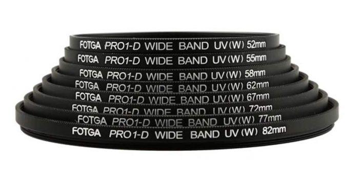 Different Size UV Filters