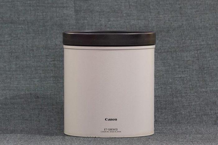 Cylindrical Metal Lens Hood for Telephoto Lenses