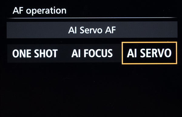 Focusing Mode Settings