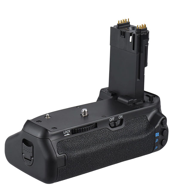 Camera Battery Grip - Back View