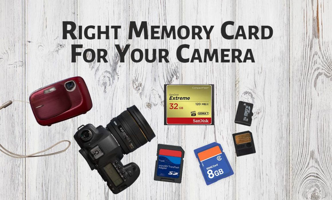 Right Memory Card For your Camera