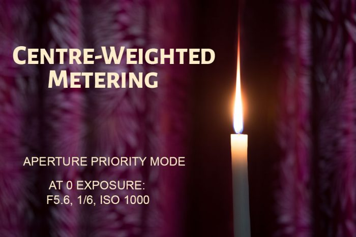 Centre Weighted Metering Mode Example