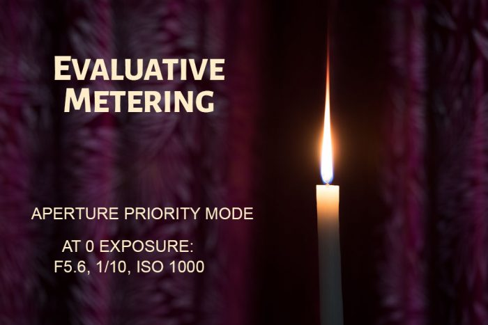 Evaluative Metering Mode Example