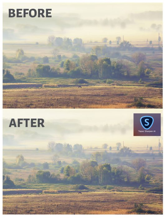 Topaz Sharpen AI Before After-Landscape Photography