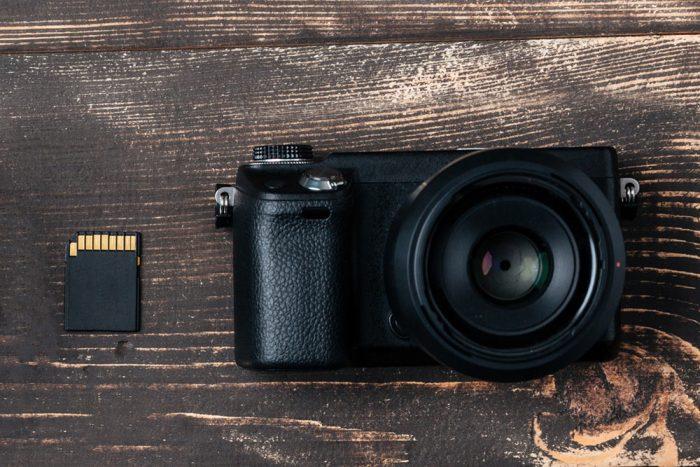 Camera and Memory Card