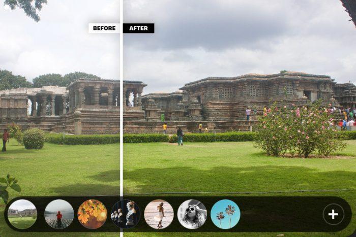 Styles option in PhotoLemur