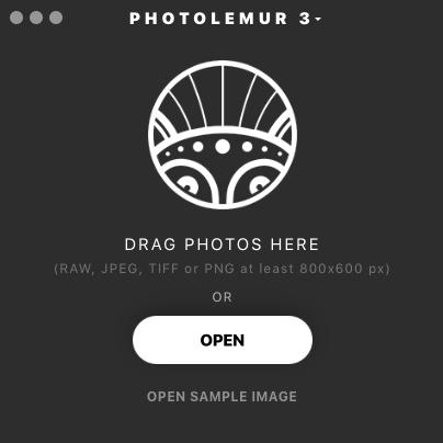 PhotoLemur 3 Window