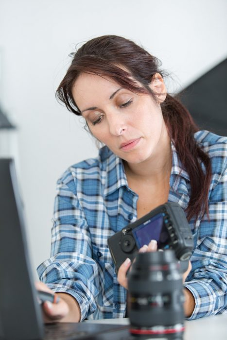Inspecting Camera Battery