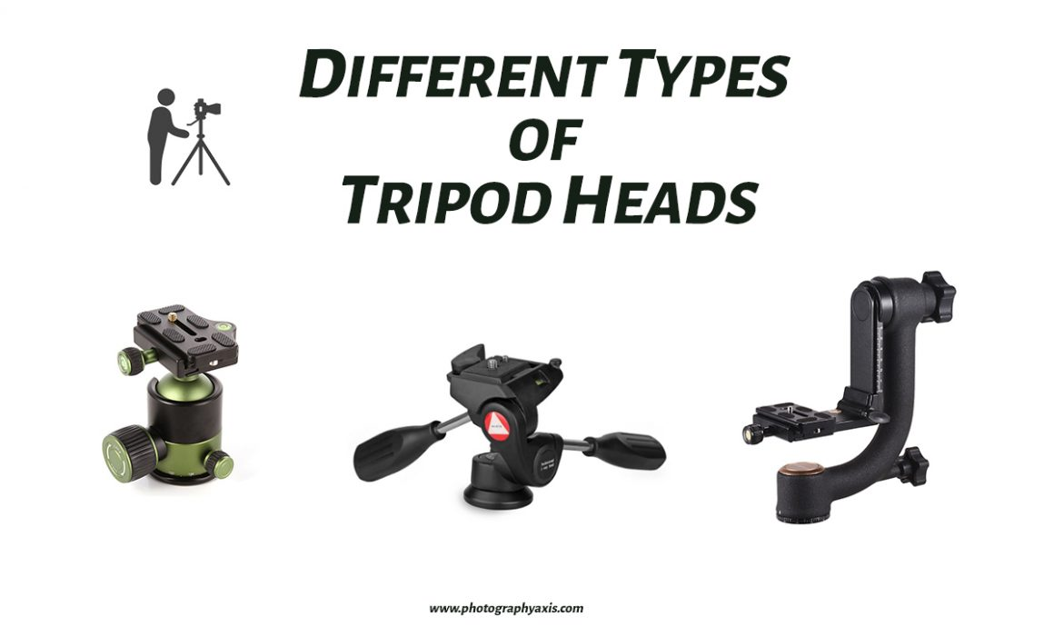 Different Types of Tripod Heads