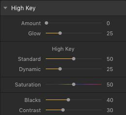 High Key Filter