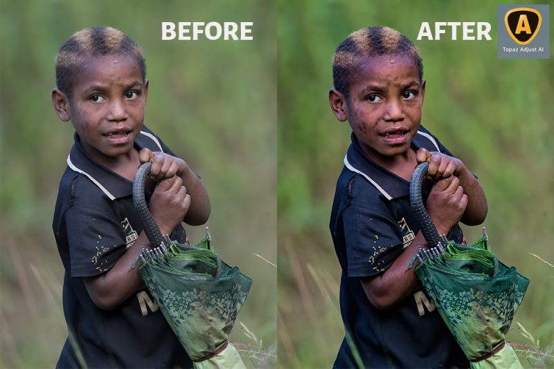Topaz Adjust AI Before After Image