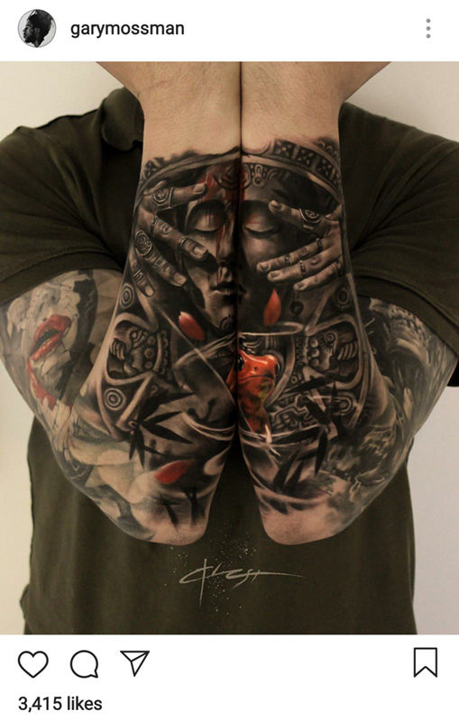 Tattoo Image from Instagram