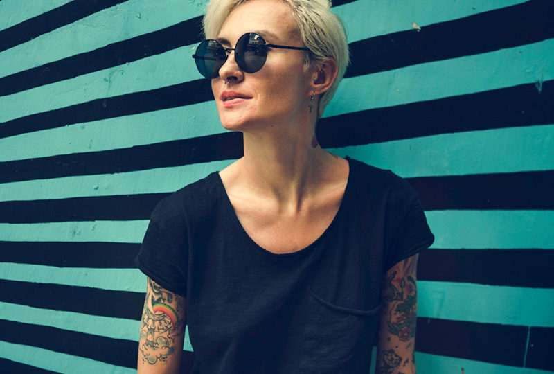 Women with Tattoos posing