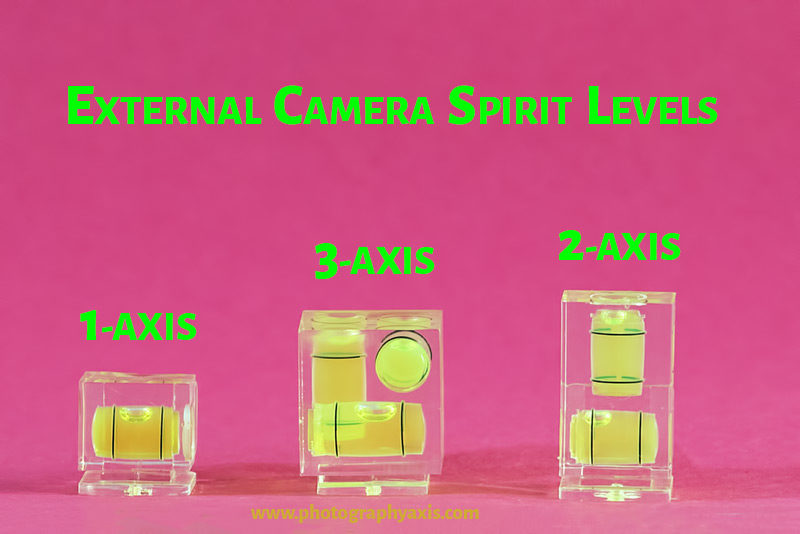 Different Types of Camera Spirit Level
