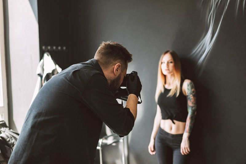 Posing for Tattoo Photography
