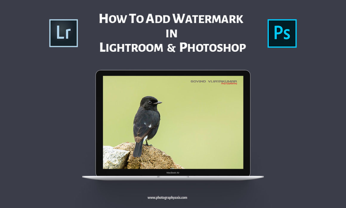 How to add watermark in Lightroom and Photoshop