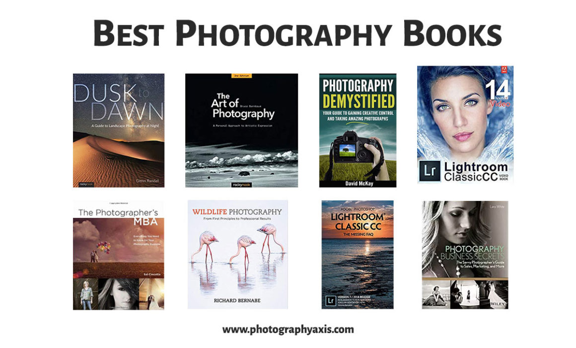 Best Photography Books for Beginners and Professionals
