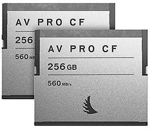256GB CFast memory card