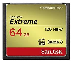 64GB Compact Flash Memory card