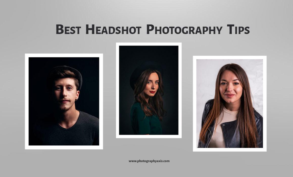 Best Headshot Photography Tips