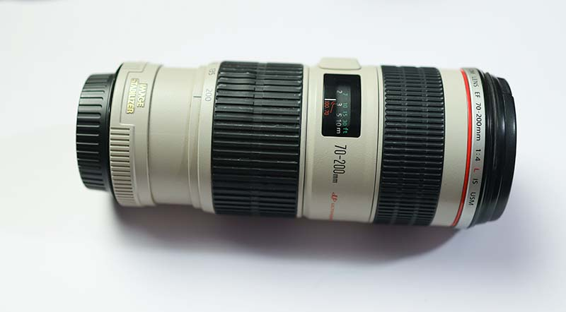 Canon 70 200 f4 L IS USM Lens