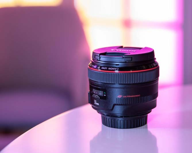 Canon USM Lens 50mm
