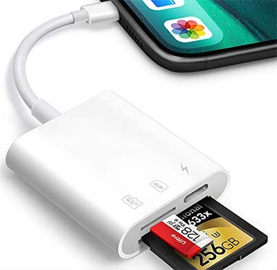 Card reader with Smartphone
