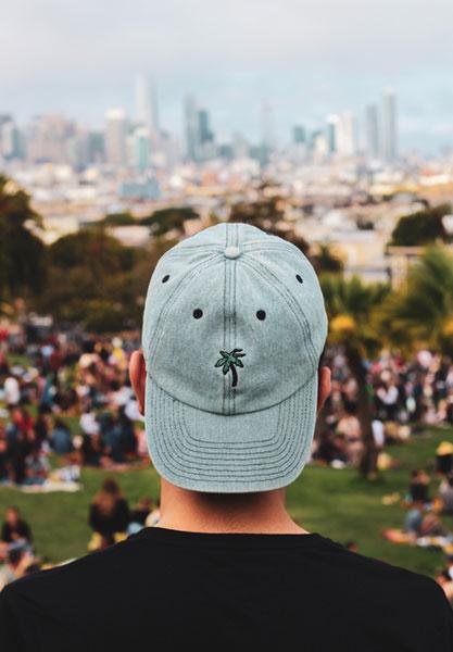 Custom photography caps