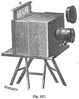 Daguerreotype camera