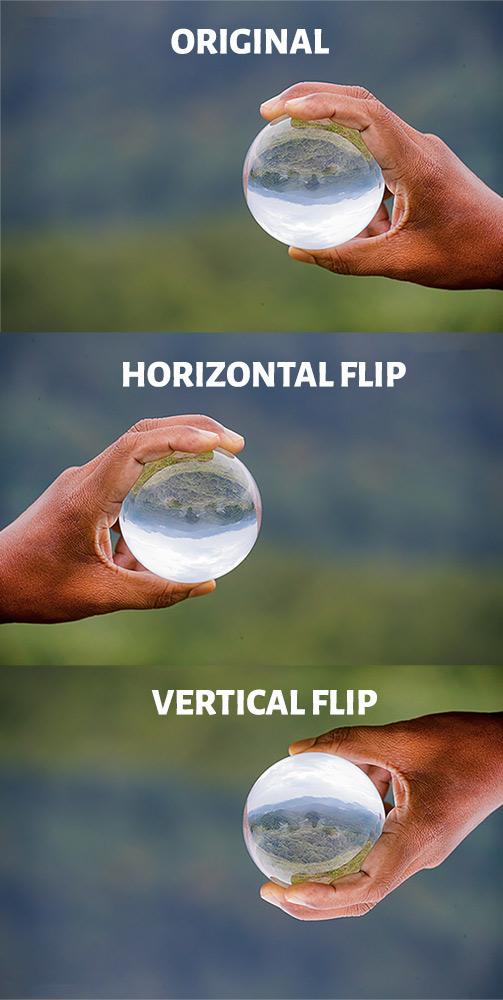 Flip in Lightroom-Before After