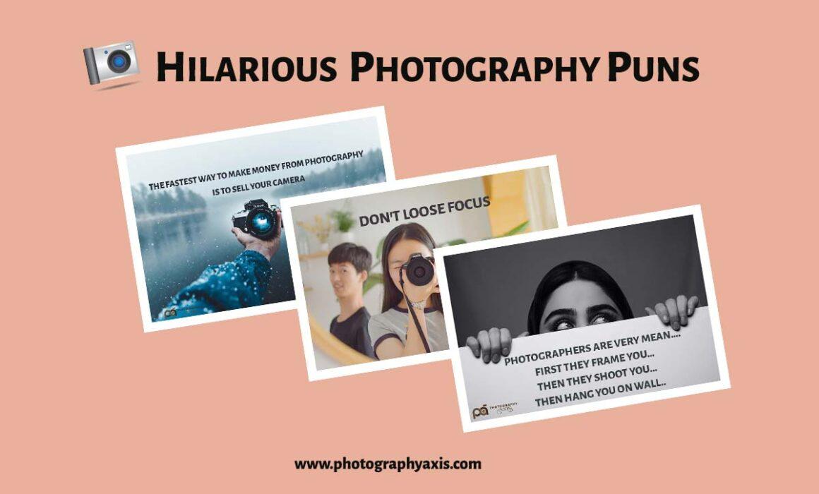 Photography Puns