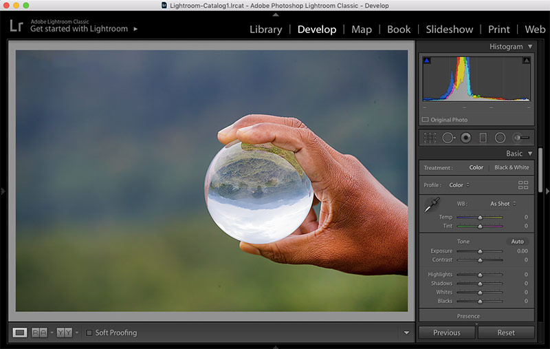 How to Rotate Image in Lightroom