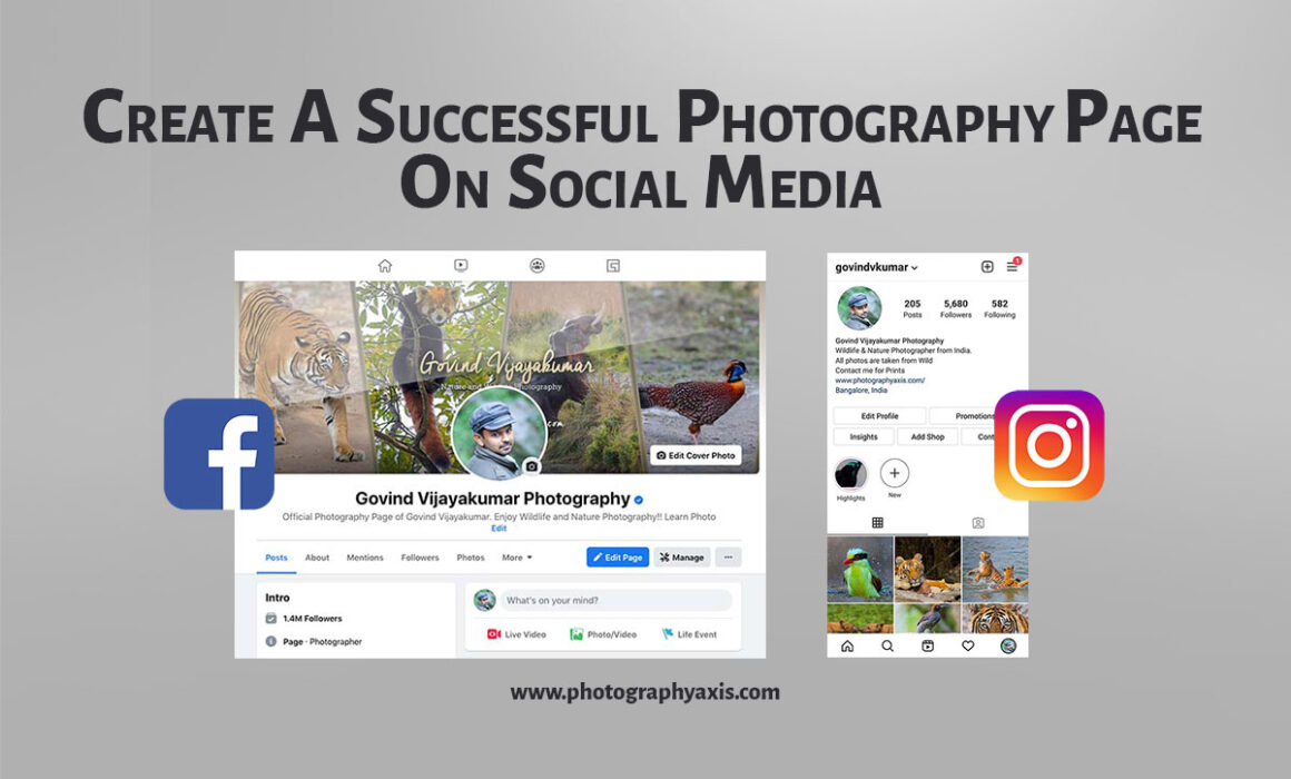 How to create a successful photography page on social media