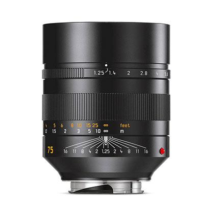 Leica Noctlilux 75mm lens
