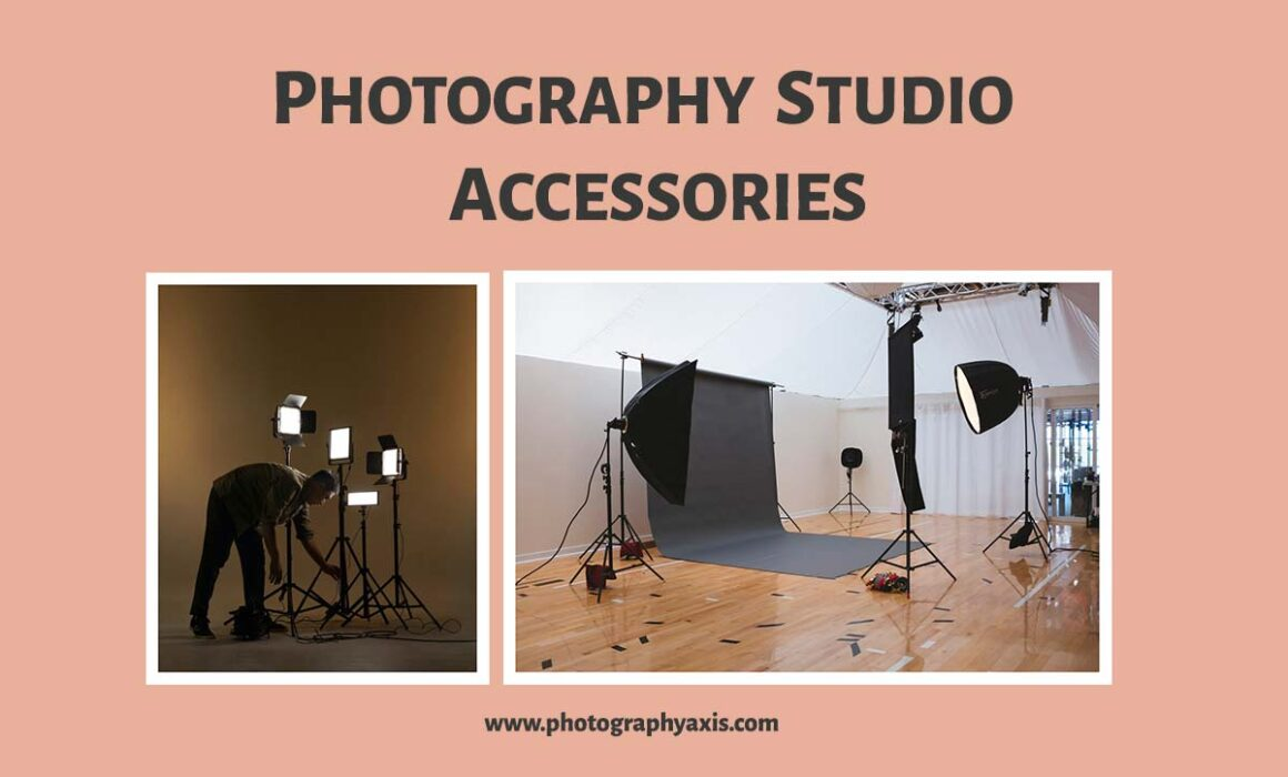 Must have photography studio accessories