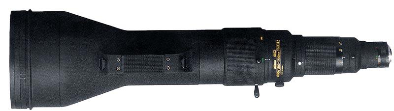 Nikkor 1200-1700mm telephoto lens