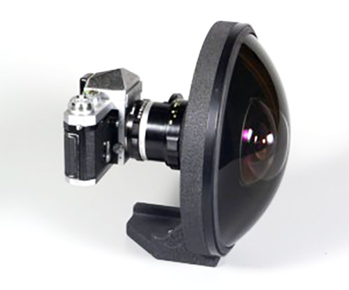 Nikkor 6mm fisheye lens