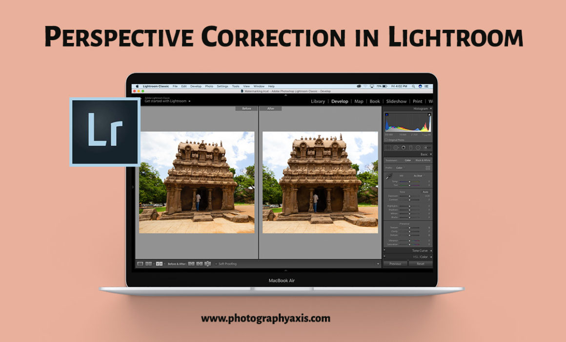 Lightroom Perspective Correction